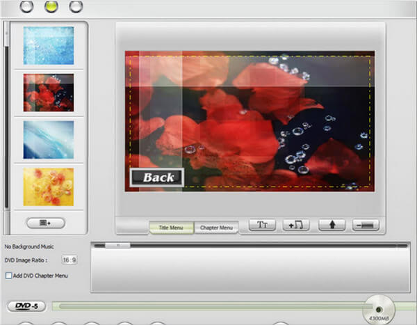 MP4到DVD刻录机 -  WinX DVD Creator