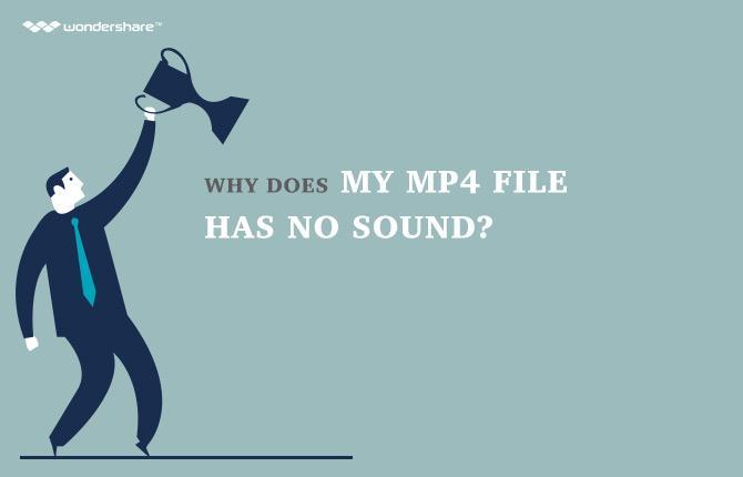 mp4视频没有声音