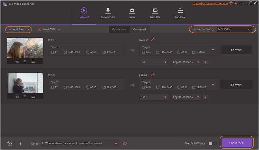 将VIDEO_TS转换为MP4免费