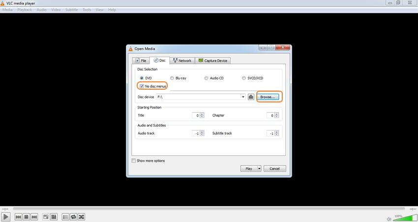 选择DVD添加文件