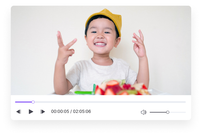 preview video before compression